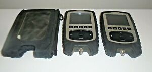 Lot Of 2 Comsonics Companion Cable Signal Level Meter 101450 001 read