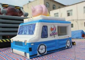 Inflatable Concession Stand Ice Cream Sno Cone Truck Event Food Drink Tent Booth