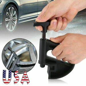 Universal Tire Changer Bead Clamp Drop Center Tool Universal Rim Clamp Black Usa
