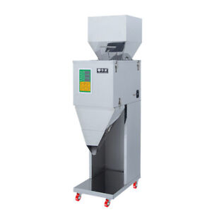 10 999g Automatic Powder Racking filling Machine Weigh Filler For Tea seed grain