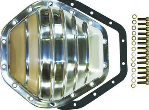 Chevy Gmc Truck 14 Bolt Finned Polished Aluminium Differential Cover 10 5 Rg