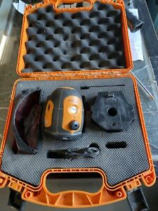 Acculine Pro 40 6520 Self Leveling Rotary Laser Level W case Free Shipping