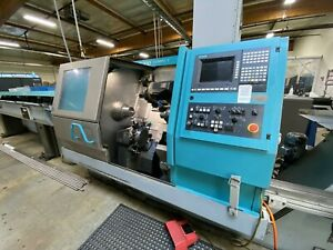 1996 Index G200 Compact Cnc Lathe Mill Turn 6 axis 2 Turrets Subspindle