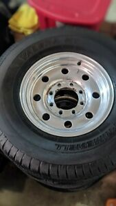 4 Original Ford F 350 Alcoa Wheels With Tires 16x7 8 6 5 Bolt Pattern