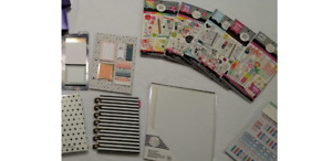 Happy Planner Sticker Lot With Other Planner Items See Pics And Description