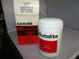 Autolite Oil Filter ford Or Mustang Nos