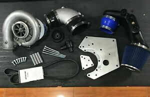 2005 Ford Mustang Gt 3v 4 6 V8 Blower Turbo Supercharger
