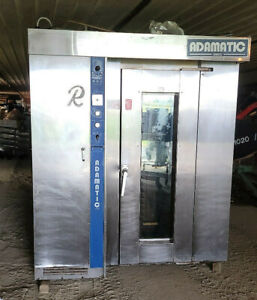 Hobart Revent Adamatic Single Rack Rotating Convection Oven Bakery Natural Gas