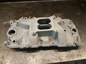 Edelbrock 7163 Performer Rpm 2 R Intake Manifold For 396 502 Bb Chevy V8