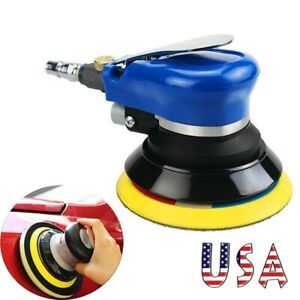 5 Air Random Orbital Palm Sander Auto Body Orbit Da Sanding New Us New