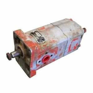 Used Hydraulic Pump Tandem Dynamatic Compatible With Case David Brown 990