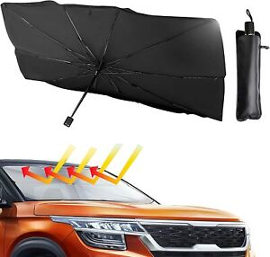 New Retractable Car Windshield Sun Shade Keep Vehicle Cool Sun Visor Protector