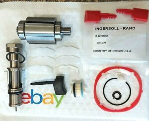 Ingersoll Rand 2131 Conversion To 2135timax 7 Vane Rotor T U Kit Rev Vlv Buttons