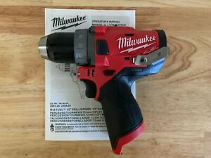 Milwaukee 2503 20 M12 Fuel 1 2 Cordless Drill Driver Brushless Tool Only New