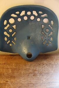 Antique Cast Iron Tractor implement Seat