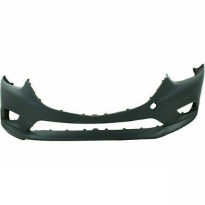 Front Bumper Cover For 2014 2016 Mazda 6 W fog Light Holes Ma1000238