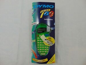 Dymo Letratag Green New In Box Label Maker