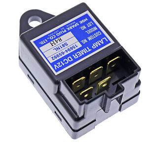 Lamp Timer Relay Glow Plug Control Sba385870500 For Case Ih Tractor D35 D40 D45