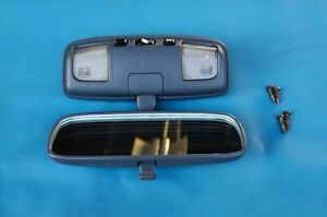 1990 1995 Toyota 4runner Oem Gray Blue Map Dome Light Rear View Mirror W Screws