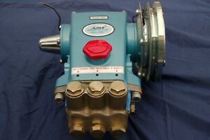 Cat 5 Frame Plunger Pressure Washer Pump Model 357 With Electronic Clutch Rails