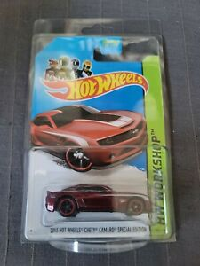 Hot Wheels 2013 Chevy Camaro Special Edition Hw Workshop Factory Sealed Sth S9