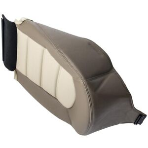Driver Side Bottom Leather Seat Cushion Cover Tan For Ford Explorer 2002 2006