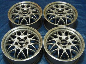 Jdm Honda Oem 16 Bbs Rg ii Factory Alloy Wheels Prelude Accord Rsx Civic Rims
