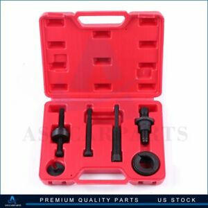 For Gm Ford Power Steering Pump Pulley Kit Puller Remover Installation Tool Set