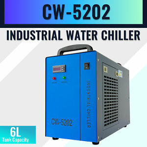 Industrial Water Chiller For 60 150w Co2 Laser Engraving Cutting Machine Cw 5202