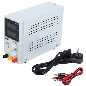 30v 10a Dc Power Supply Variable Regulated Dual Digital Test Adjustable