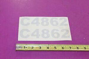 Nos Montana Tractors C4862 Decal Acquired From A Closed Dealership See Pic