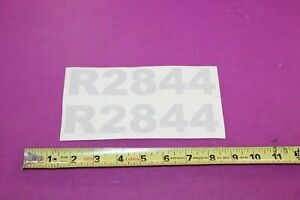 Nos Montana Tractors R2844 Decal Acquired From A Closed Dealership See Pic