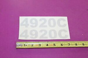 Nos Montana Tractor 4920c Decal Acquired From A Closed Dealership See Pic