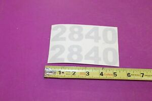 Nos Montana Tractors 2840 Decals Acquired From A Closed Dealership See Pic