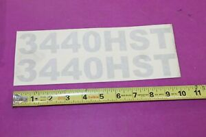 Nos Montana Tractor 3440hst Decal Acquired From A Closed Dealership See Pic