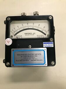 Weston Electrical Instrument Amp Meter 0 To 50 A Ac Vintage In Excellent Cond