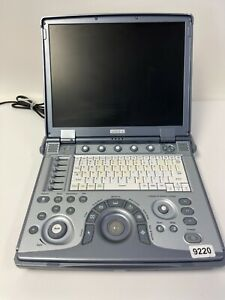Ge Logiq E Portable Imaging System Ultrasound W power Supply 9220