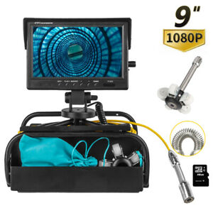 9 Inch 23mm 1080p Pipe Inspection Video Camera Drain Sewer Pipeline E5q0