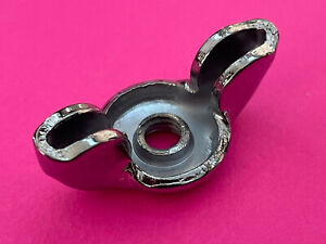64 72 Chevelle Camaro Corvette Gto Gs Ss Chrome Air Cleaner Wing Nut Oem Nosr