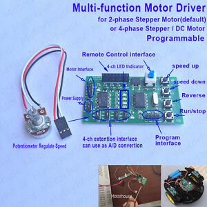 Multi function Programmable Module 2 4 phase Stepper Motor Driver Control Board
