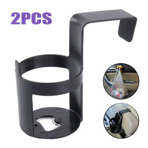 2pcs Universal Car Truck Door Cup Mount Vehicles Bottle Holder Water Drink Stand