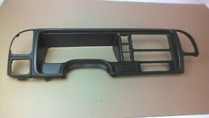 1995 1999 Silverado Sierra Tahoe Suburban Dash Bezel Radio Trim Air Vents Blue