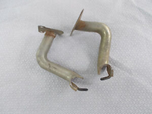 1965 1966 1967 1968 Ford Galaxie Front Door Wiring Harness Guards Pair