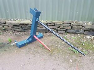 Agri fabs Bale Spike With Sister Spike Free Delivery 2 Yr Warranty Low Price