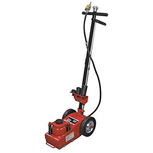 Aff Air hydraulic Axle Floor Jack With 3 Piece Ram Extension Kit 22 Ton 565e
