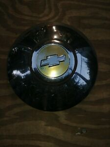 1950 53 Chevy Car Dog Dish Hubcap Poverty Hubcap 1 Oem Totally Original Used