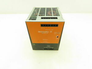 Weidmuller Pro Eco3 Switch Mode Power Supply 480w 24vdc 20a Out 480v In