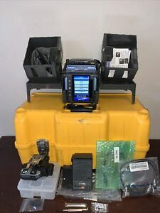 Fujikura 70s Sm Mm Core Alignment Fiber Fusion Splicer W Ct50 Cleaver Fsm 70s