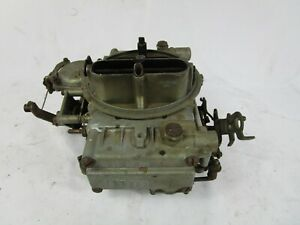 Holley Four Barrel Carburetor List 1850 2 Universal 600 Cfm Chevy Corvette 350