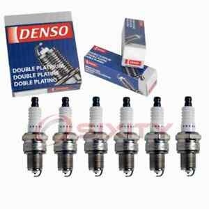 6 Pc Denso Platinum Long Life Spark Plugs For 1968 1969 Checker Marathon Wj